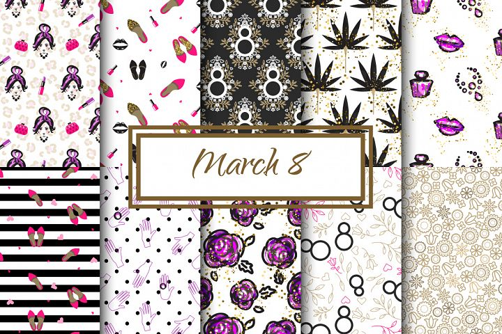 March 8 Feminine patterns