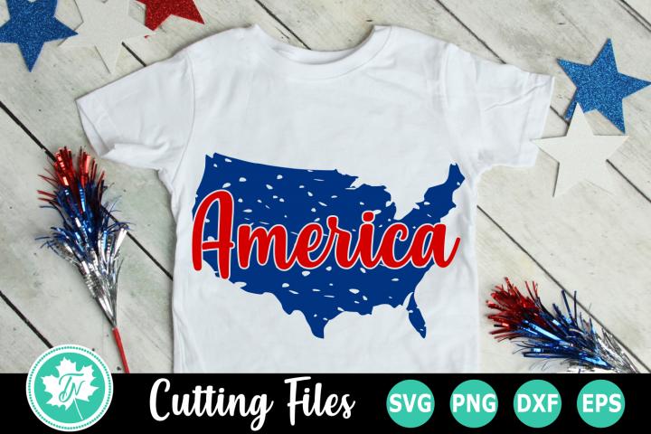 Distressed America - An American SVG Cut File