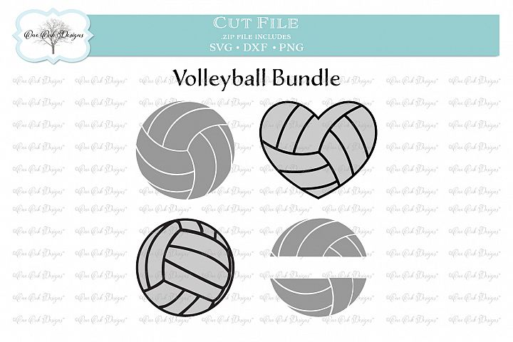 Volleyball Bundle - SVG DXF PNG