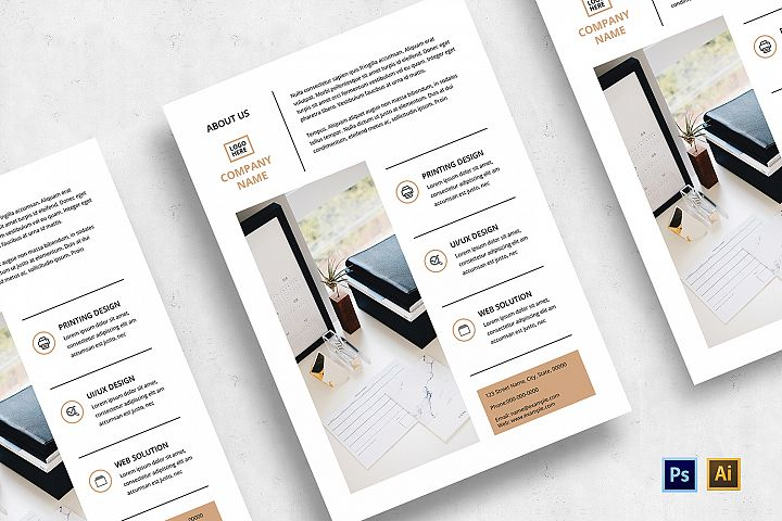 Minimalist Business Flyer-v03
