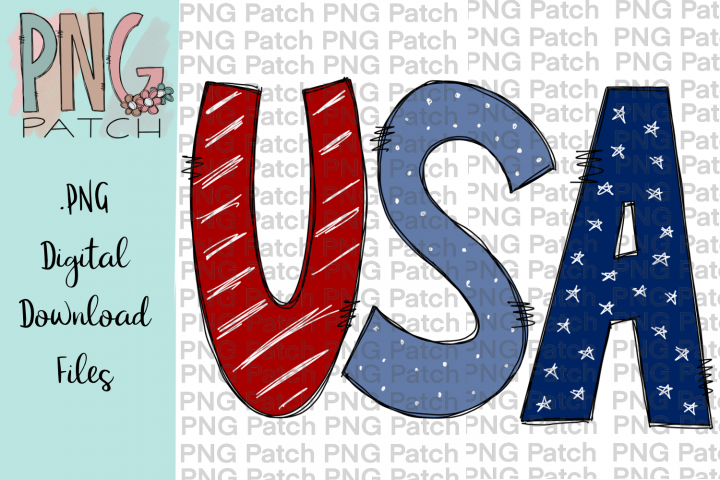 USA, Fourth of July, July 4th, Red White and Blue PNG Files