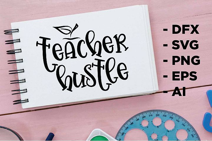 teach hustle Printable
