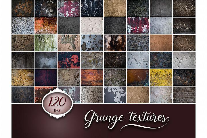 120 Grunge Cracks Photo Overlays