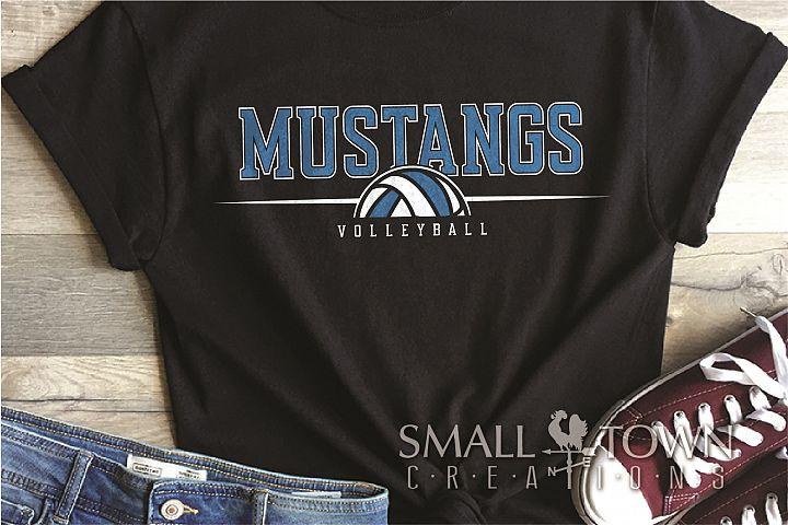 Mustang, Mustang Volleyball, Sport, PRINT, CUT & DESIGN