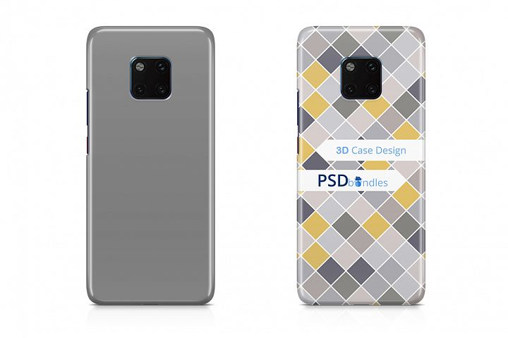 Huawei Mate 20 Pro 3d Case Design Mock-up