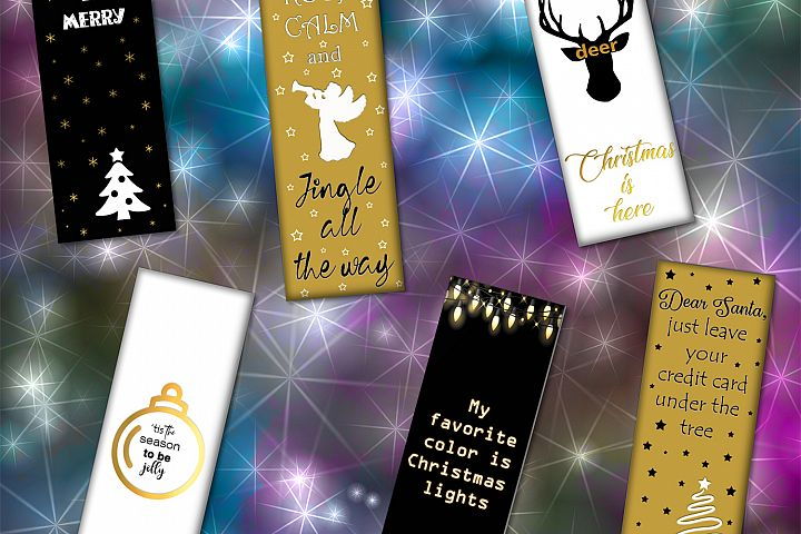 Bookmarks Christmas,Christmas Cards,Christmas Scrapbook