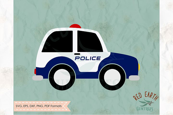 Cute police car, small police car in SVG,DXF,PNG,EPS, PDF