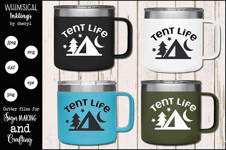 Tent Life SVG