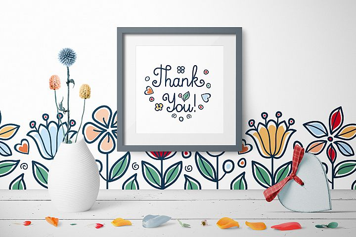 Greeting cards for Mother's Day in different languages. English, German, Finnish, Spanish, Italian, French example 1