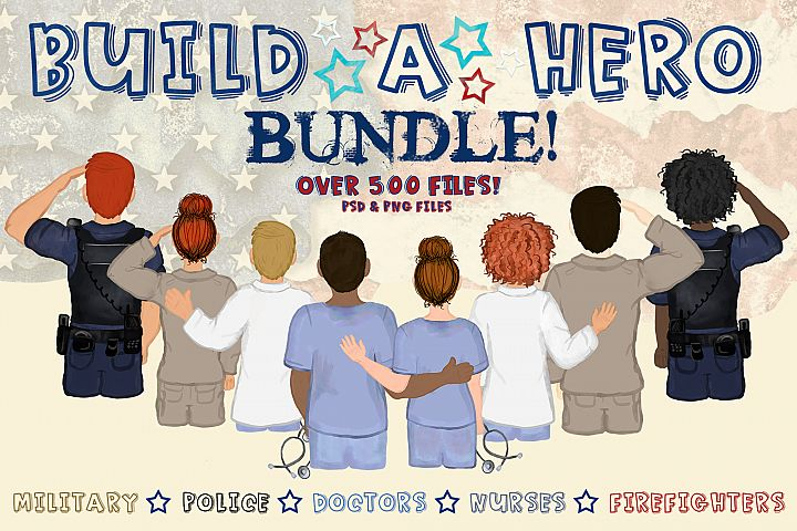 Build a Hero Bundle | Character Builder | Hero Version