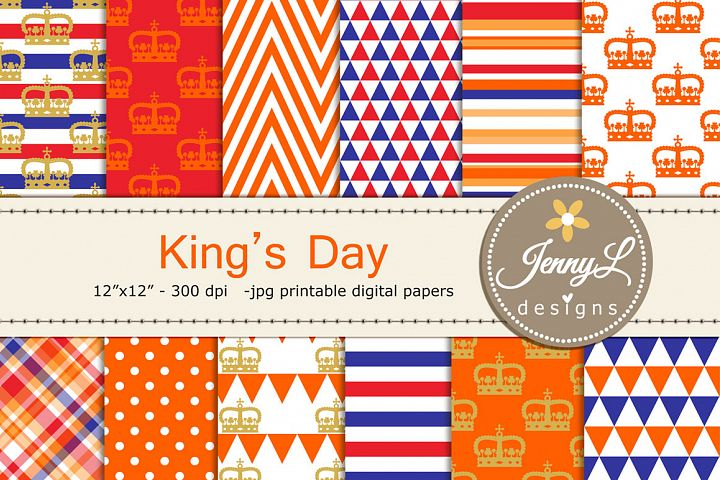 Dutch Kings Day, Netherlands, Konningsdag Holland