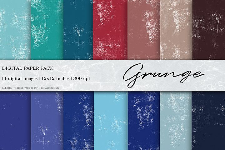 Grunge Background , Grunge Digital Papers, Canvas Background