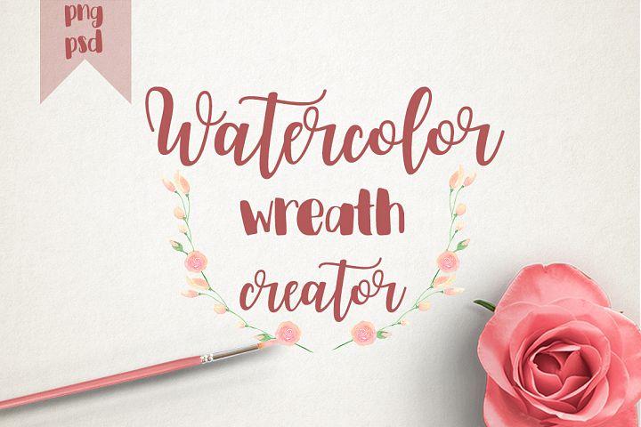 WATERCOLOR WREATH CREATOR