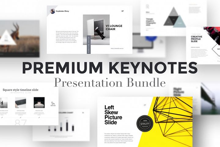 Premium Keynotes Presentation Bundle