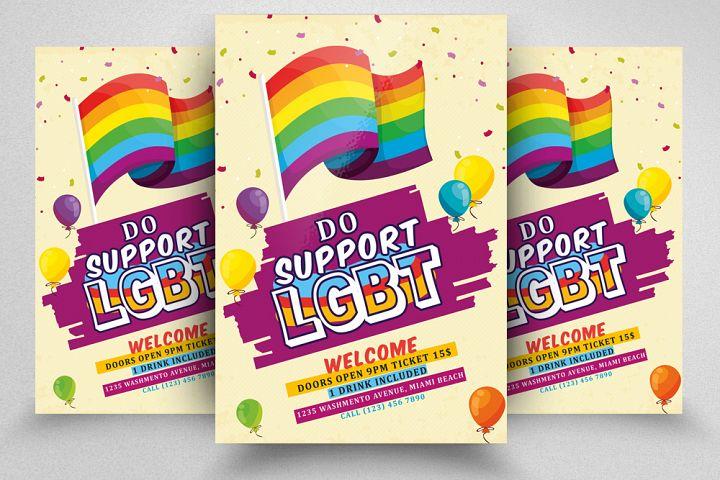 LGBT Pride Flyer Poster