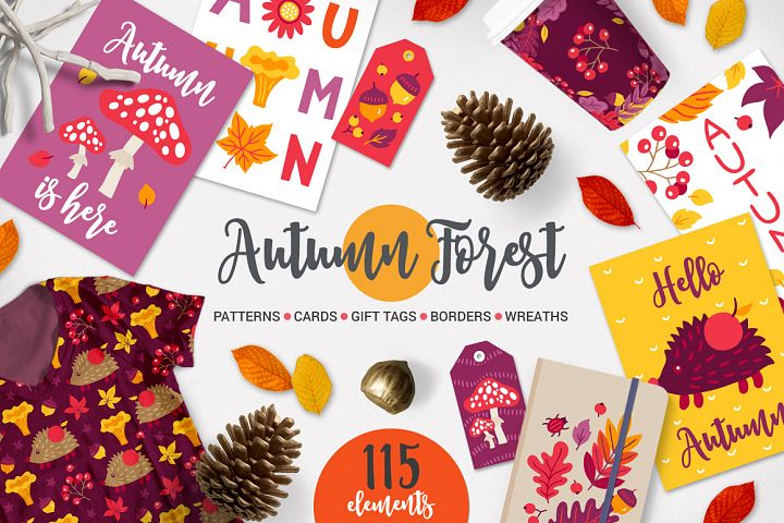 Autumn Forest Kit