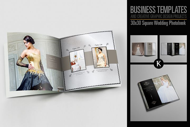 30x30 Square Wedding Photobook
