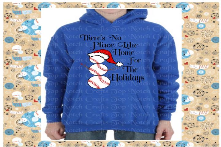 Baseball Snowman Design File - Softball Snowman Design File