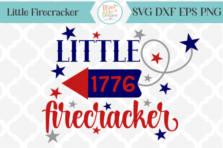 Little Firecracker SVG Cutting File
