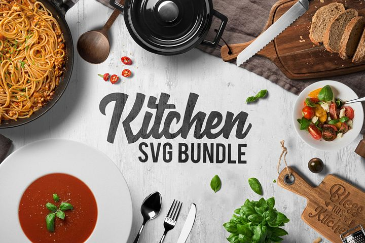 Kitchen Svg Bundle - Kitchen Quotes Svg - Chef Svg - Sayings