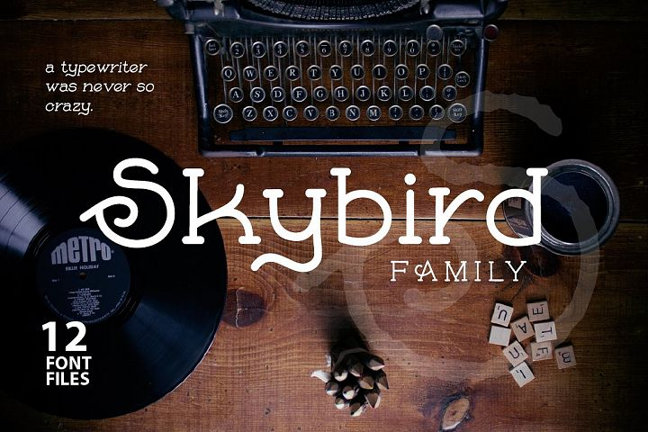 Skybird Family - Crazy, unique & retro