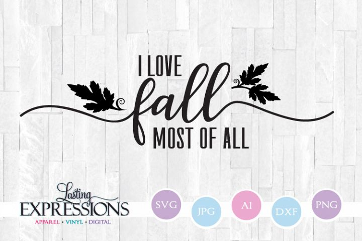 I love fall swash // Fall Craft Quote