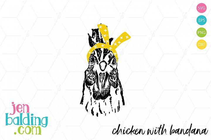 Chicken with Bandana