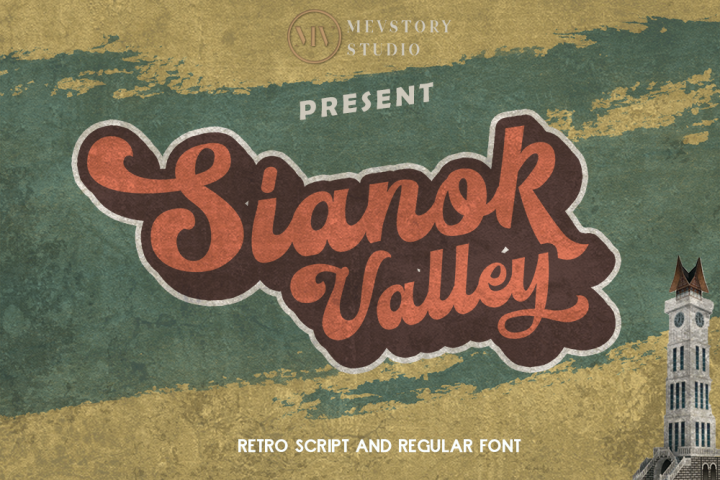 Sianok Valley | Retro Font