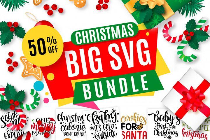 Christmas SVG Design Big Bundle |125 Designs