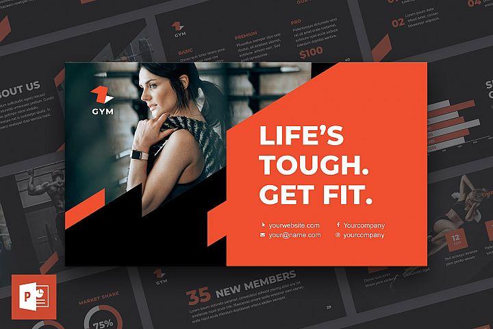 Gym PowerPoint Presentation Template