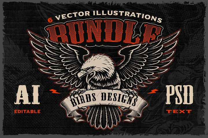 Birds Vectors Bundle