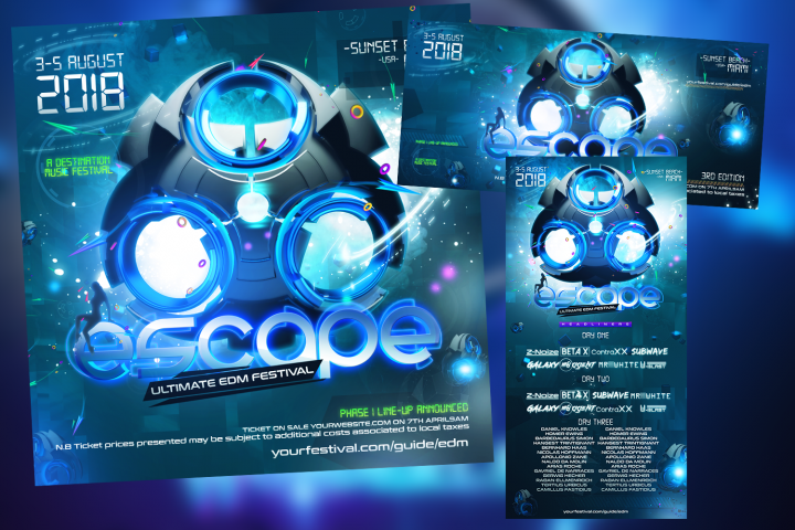 EDM Web Banner Project