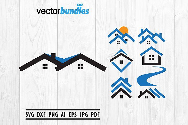Real Estate Clip Art Svg, Cut File Svg