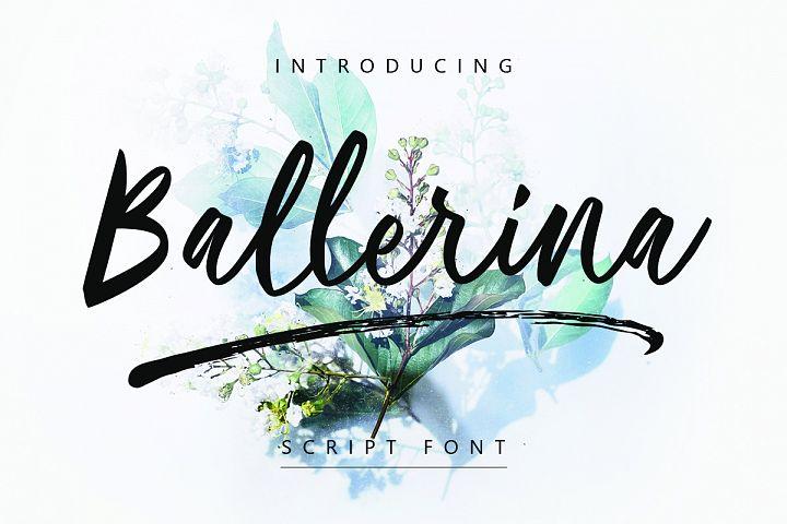 Ballerina| Script Font