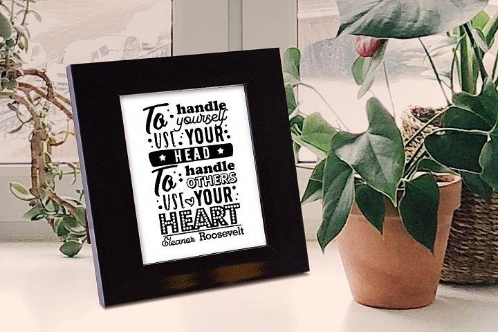 Quote - Typography Design