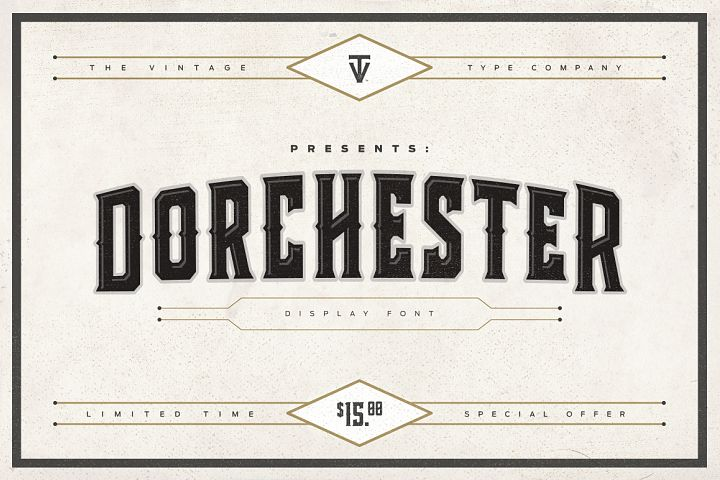 Dorchester Display Font