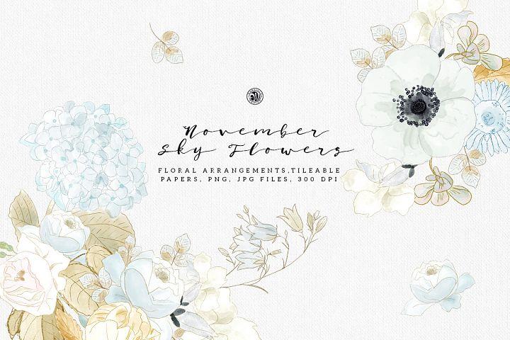 November Sky Flowers