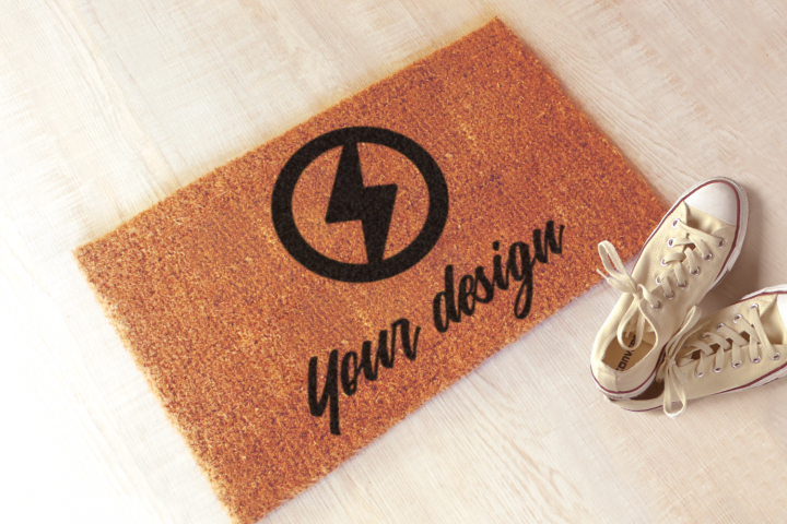 Welcome Mat Product Mock Up