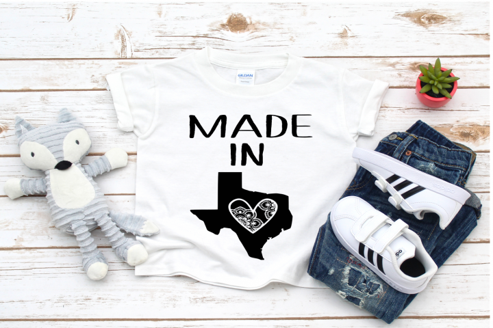 Made in Texas SVG