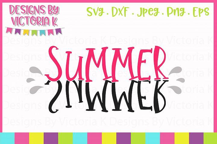 Summer SVG Cut File