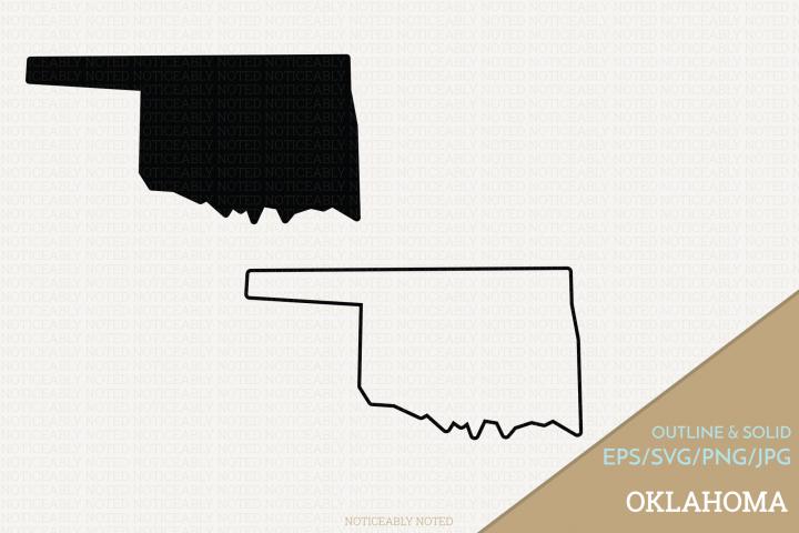 Oklahoma Vector / Clip Art