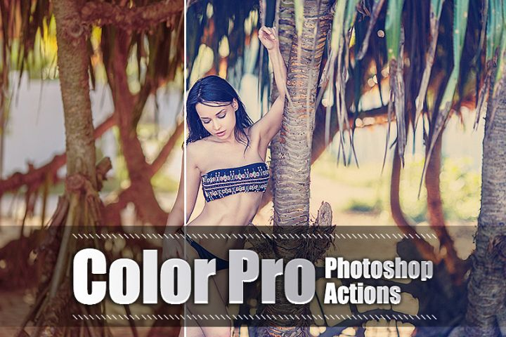 60 Color Pro Photoshop Actions