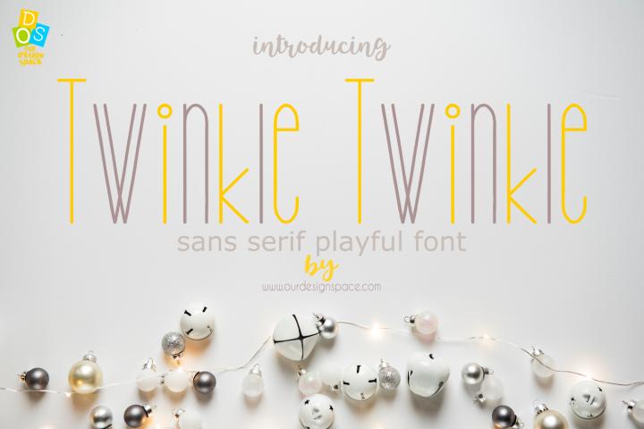 Twinkle Twinkle Font