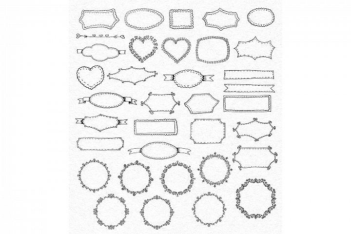 Vintage Vector Elements Set - Free Design of The Week Design 1