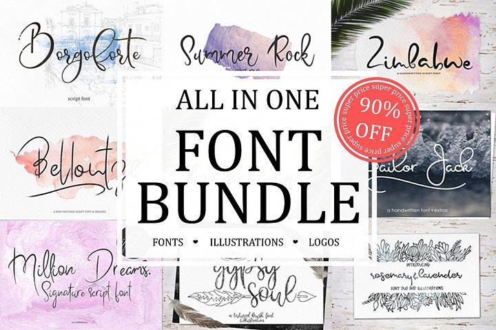 Font Bundle Sale