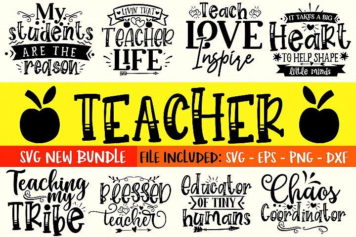 Teacher SVG Bundle Vol 1