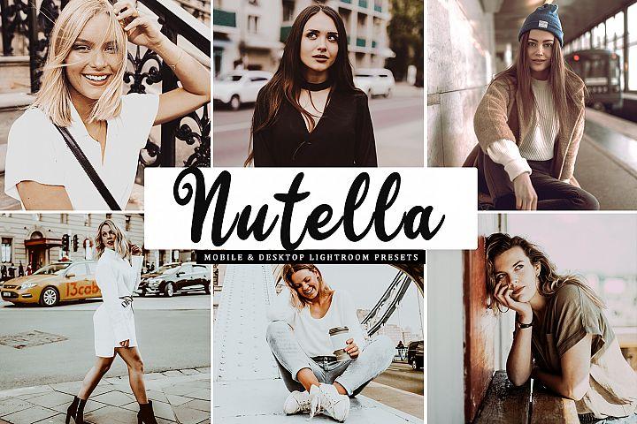 Nutella Mobile & Desktop Lightroom Presets