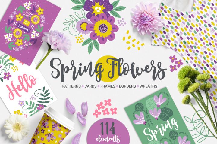 Spring Flowers Kit
