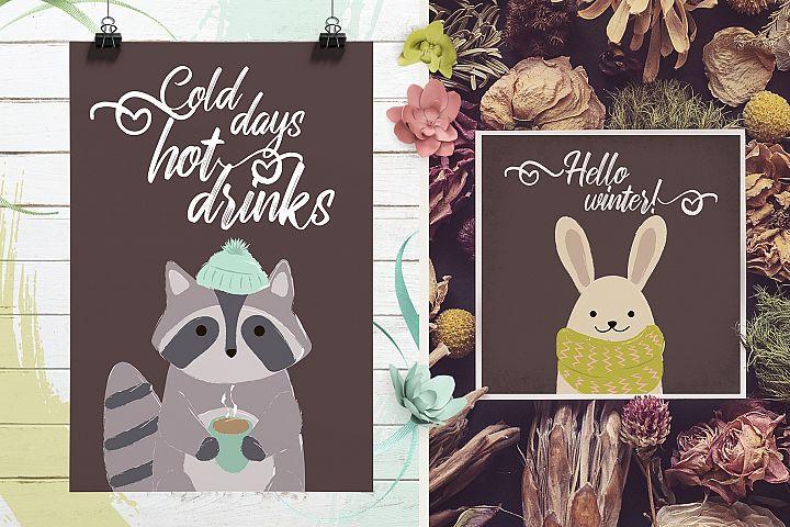 Winter's cute animals example 6