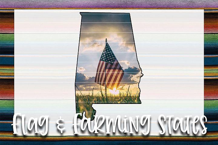 Flag & Farm AL Sublimation Digital Download